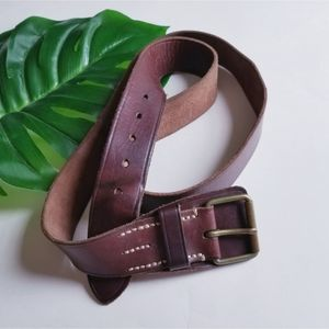 Polo by Ralph Lauren Handmade Leather Belt 48/120